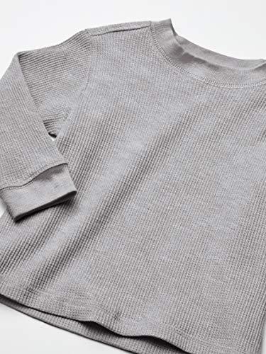 French Toast Boys' Long Sleeve Thermal Waffle Tee T-Shirt