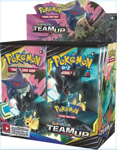 Pokemon TCG: Sun & Moon Team Up, 36 Pack Booster Box (Best New Pokemon Sun And Moon)