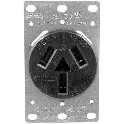 5206 Single-Flush Range Receptacle (3 wire) Home, garden & living (Range Flush Receptacle)