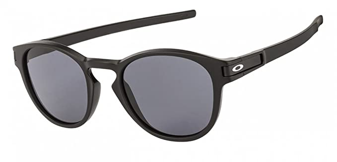 12e051c69ca Image Unavailable. Image not available for. Colour  Oakley LATCH™ OO9265-01  Matte Black Round Sunglass ...