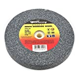 Forney 72401 Bench Grinding Wheel, Vitrified with 1-Inch Arbor, 36-Grit, 6-Inch-by-3/4-Inch