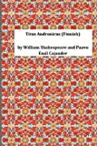 Titus Andronicus (Finnish), William Shakespeare William Shakespeare and Paavo Emil Cajander, 149543012X