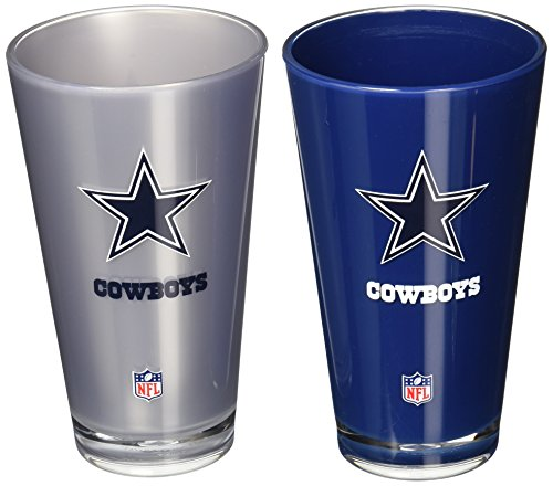 Nfl Dallas Cowboys 20 Ounce Insulated Tumbler   2 Pack