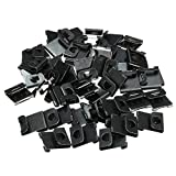 50PCS/Set Hangers Clips Fix Hanging Hooks For Picture Photo Frames Wall Artwork 15x17cm