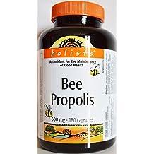 200 Caps./ 500mg., Bee Propolis, Holista®, Guaranteed Quality, Antioxidant. From CANADA.