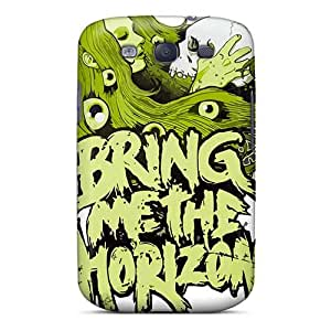 Bumper Hard Cell-phone Case For Samsung Galaxy S3 (ROz15256JUnu) Support Personal Customs High Resolution Bring Me The Horizon Band Bmth Image