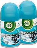 Air Wick Freshmatic Ultra Automatic Air Freshener Spray Refill, Fresh Waters, 6.17 oz each, 2 ea (12 Pack)