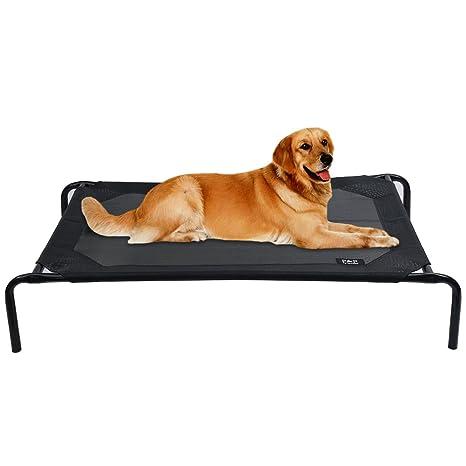 petacc Elevated mascotas camas malla mascota cama para mascotas, transpirable Tejido, superior capacidad de