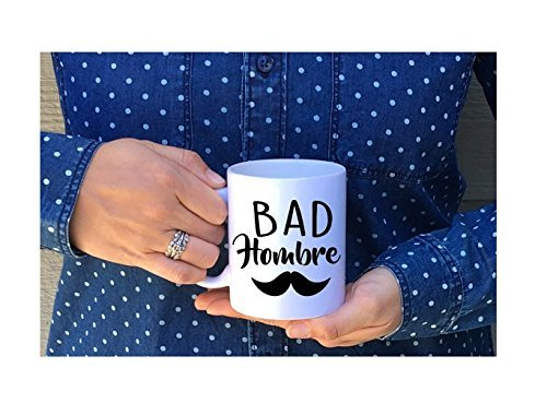 Bad Hombre Mug / Hombre Mug / 2017 Debate Mug / Trump Mug // Donald Trump / Made in USA / Americn Made / election / Coffee Mug // Mug // Gift