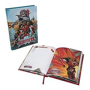 Giochi Preziosi Gormiti 19 Diario Scuola 10 Mesi, Formato Standard, 320 Pagine, Grafiche Assortite 10 spesavip