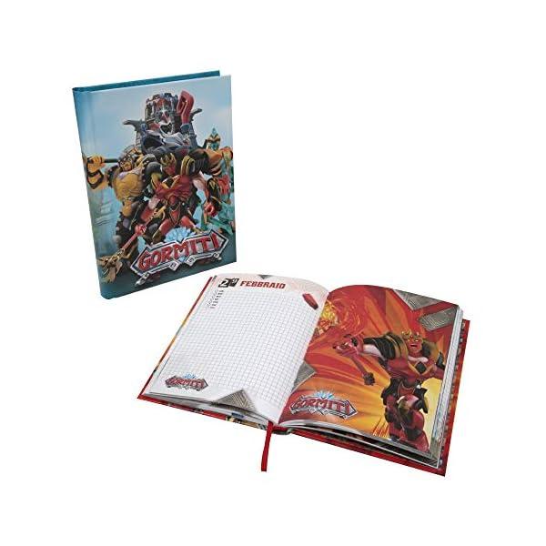Giochi Preziosi Gormiti 19 Diario Scuola 10 Mesi, Formato Standard, 320 Pagine, Grafiche Assortite 1 spesavip