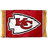 Kansas City Chiefs KC Large NFL 3x5 Flag