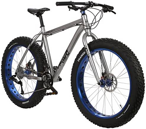 Framed Minnesota 2.0 Fat Bike Silver/Blue Mens