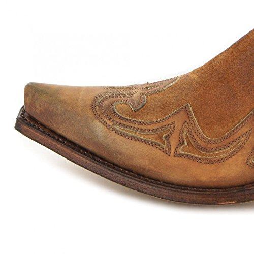 Sendra Boots - Botas De Vaquero Hombre 023 Lavado Camello