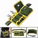 Tool Organizers Multifunctional Tool Bag Pouch Holder Electrician Waist Pack Belt Work Bag