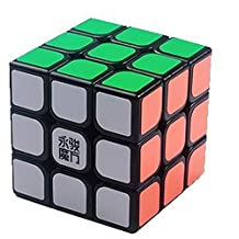 MoYu 3x3 Smooth New 3 x 3 x 3 YJ Sulong Black Speed Cube Puzzle