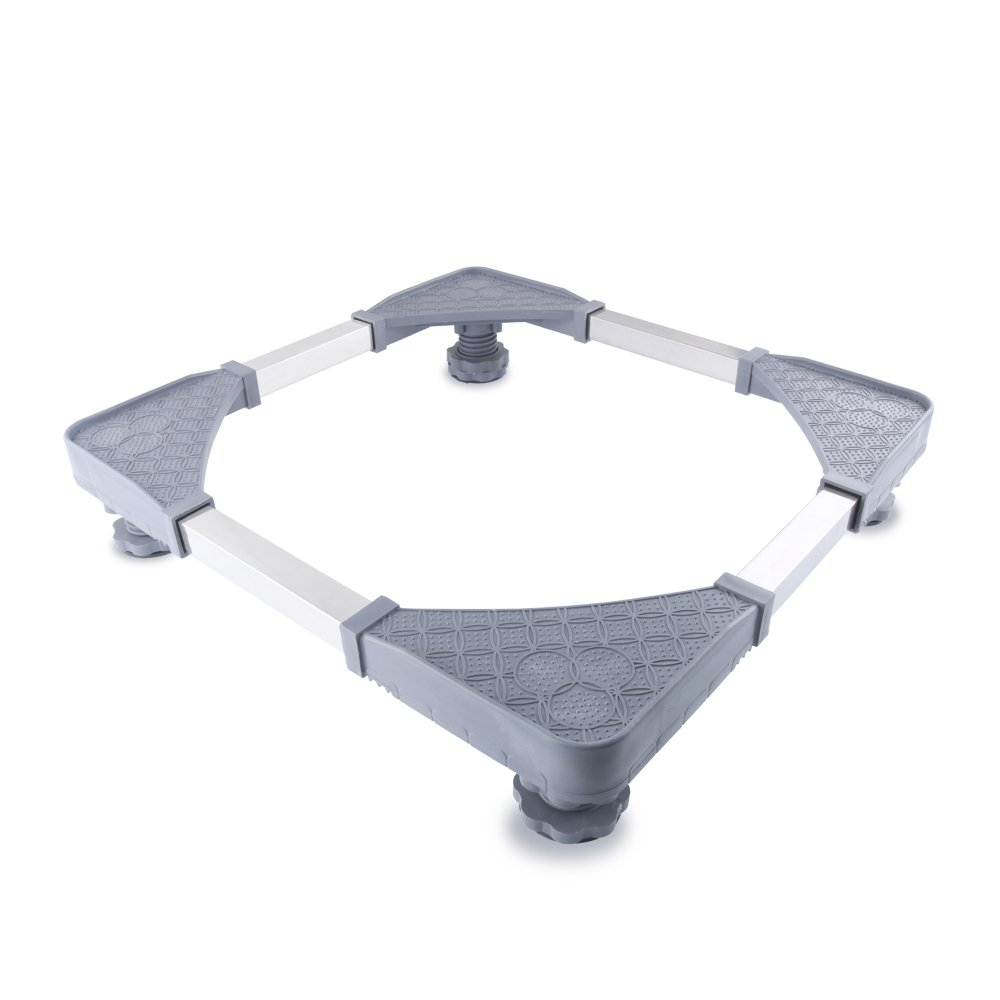 Movable Adjustable Base with 4 Strong Foot Size Adjustable Universal Machine Carriage for washing