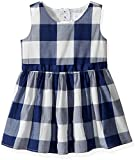 Image of The Children's Place Baby Girls' Sleeveless Casual Dresses, Bluecanvas 7529, 18-24 Months