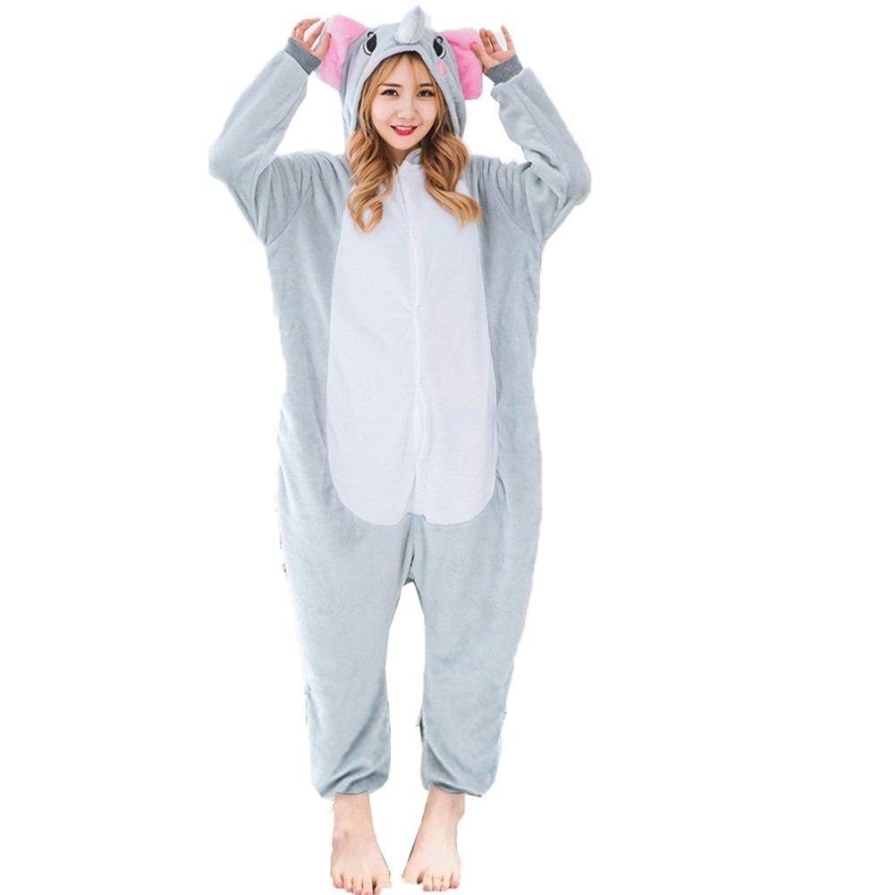 Z-Chen Pigiama Tutina Costume Animale, Unisex Uomo e Donna EU0011-0021