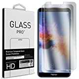 CoverON Huawei Honor 7X Screen Protector, Premium 2 Piece Slim Fit Tempered Glass Screen Protectors for Huawei Honor 7X - HD Clear