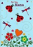 Ladybugs on Blue Sky: Nana - Designer Greetings Mother's Day Card