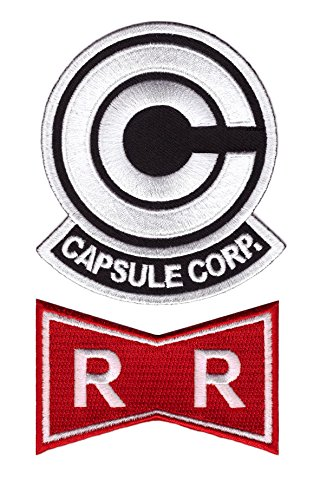Dragon Capsule Corp Ribbon Patch