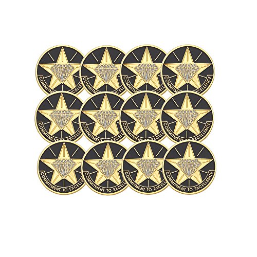 Employee Recognition Pins - 4