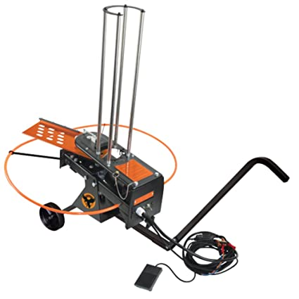 Do-All Outdoors Raven Automatic Clay Pigeon Skeet Thrower with Wheels, on