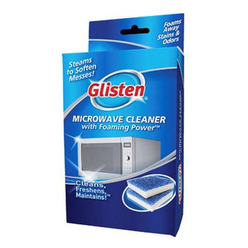 glisten-mw06t-microwave-cleaner-with-foaming-power-universal-cleanser-includes-two-scrubbing-sponges