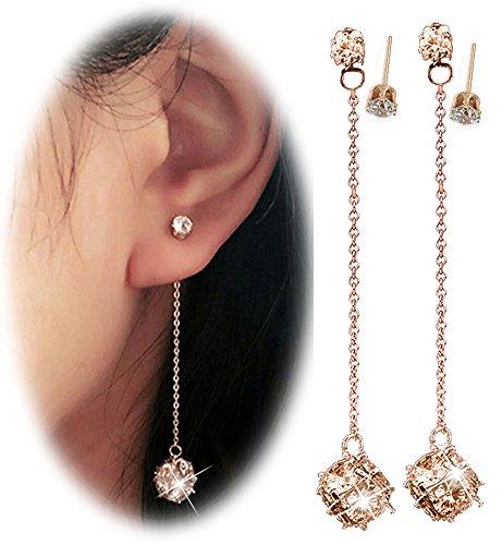 Suyi Elegant Shining Exquisite Earrings
