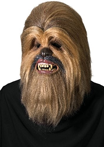 Wookie Costume Amazon (Star Wars Supreme Edition Chewbacca Mask, Brown, One Size)