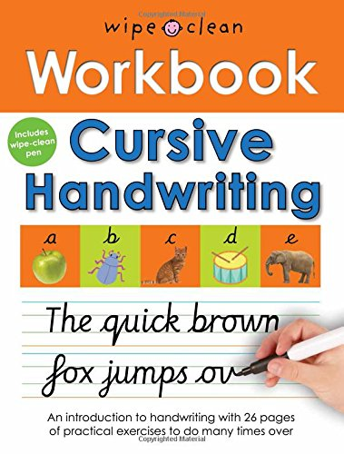 Cursive Handwriting (Wipe Clean Workbooks): Roger Priddy ...