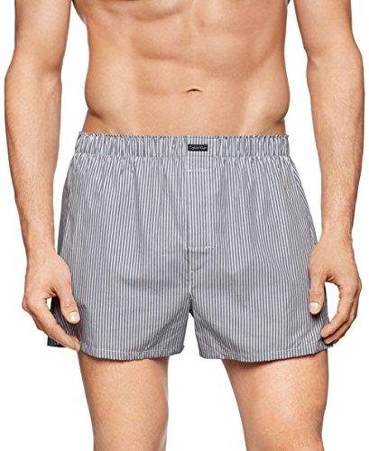 Boxers Men's tide Stripe 3 Morgan Montague Plaid Klein Pack Woven Calvin Black morgan Stripe 75aqxUXEw