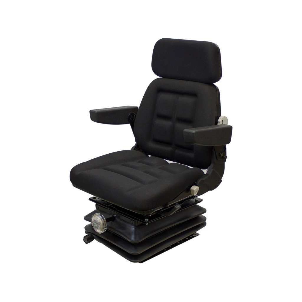 K&M Manufacturing 6641 4-175 Series KM 1004 UNI PRO Seat and Suspension, White