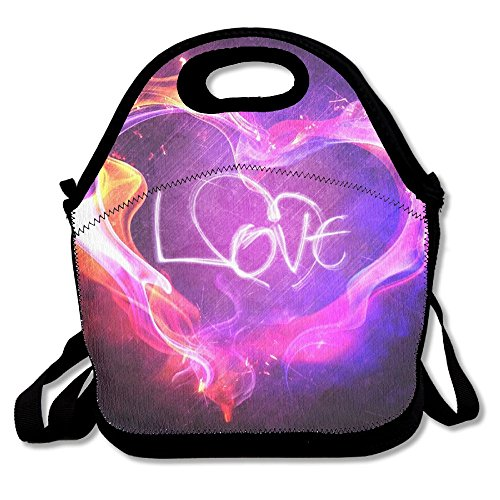 Alphabet Tot Tower - Valentine's Day Love Lunch Bags For Women Kids Insulated Fashionable Lunch Box Purse