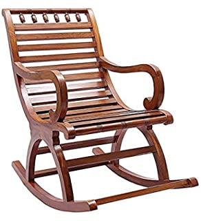 Crafts A To Z Wooden Easy Chair Wood Aaram Chair Hand Carved