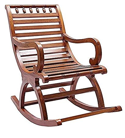 Crafts A To Z Wooden Handicrafts Rocking Chair Wooden Easy Aaram