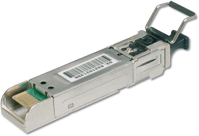 Digitus Gigabit Sfp Modul Hp Kompatibel Mini Gbic Multimode Lc Duplex 850 Nm 550 Meter 1 25