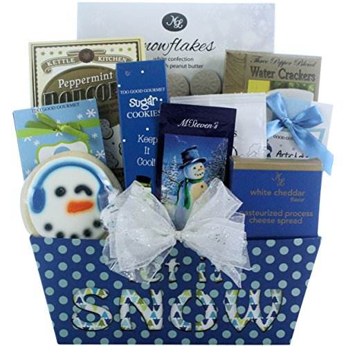 (GreatArrivals Gift Baskets Winter Wonderland Gourmet Holiday Christmas Gift Basket)