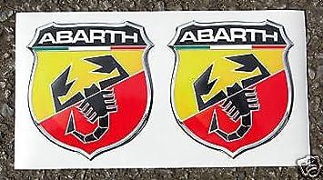 Fiat Abarth Optik Logo Sticker Aufkleber Punto 500 Auto