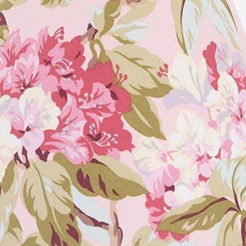Cotton Tale Designs Tea Party Ground Floral Print Fabric, Pink (Cotton Tale Tea Party Bedding)