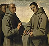 Canvas Prints Of Oil Painting ' Zurbaran Francisco - Best Reviews Guide