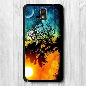 For Samsung Galaxy Note 3 Case, Two Worlds
