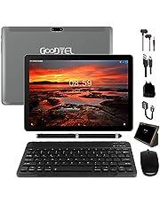 Goodtel G3 Tablet 10 Pollici con RAM da 4 GB, 64 GB di Memoria Interna, Android 8.1 4G LTE Dual SIM Call, MicroSD da 64 GB Espandibile, Doppia fotocamera, Type-C, WiFi GPS Bluetooth Media, grigio