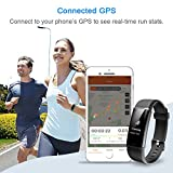 LETSCOM Fitness Tracker, Heart Rate Monitor Bluetooth...