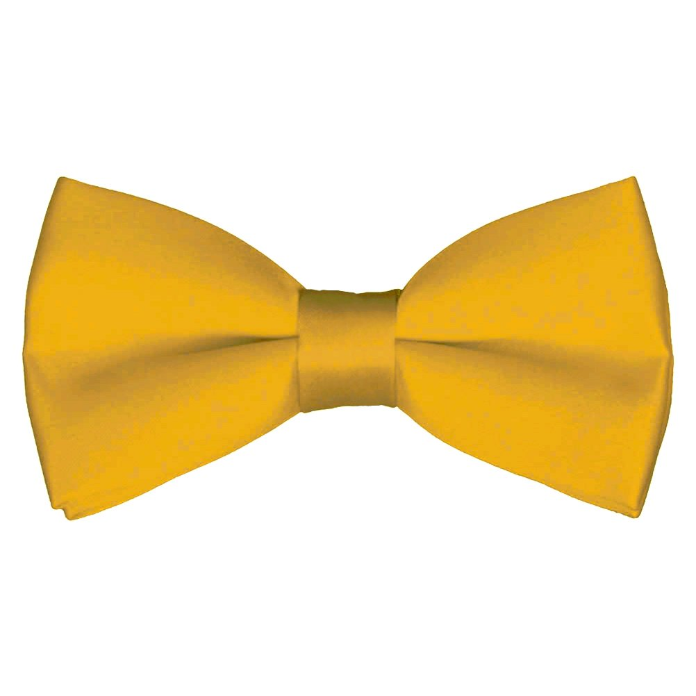 by Platinum Hanger Mens Classic Pre-Tied Satin Formal Tuxedo Bowtie Adjustable Length Large Variety Colors Available
