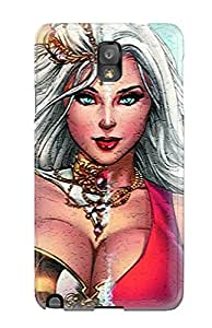Ideal Kyle A White Case Cover For Galaxy Note 3(grimm Fairy Tales), Protective Stylish Case