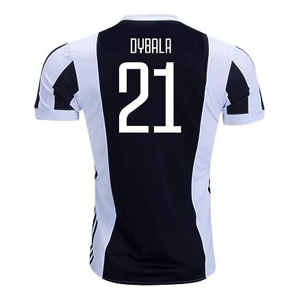 44ec74f5 Amazon.com : 2017-18 Juventus Home Football Soccer T-Shirt Jersey (Paulo  Dybala 21) : Clothing
