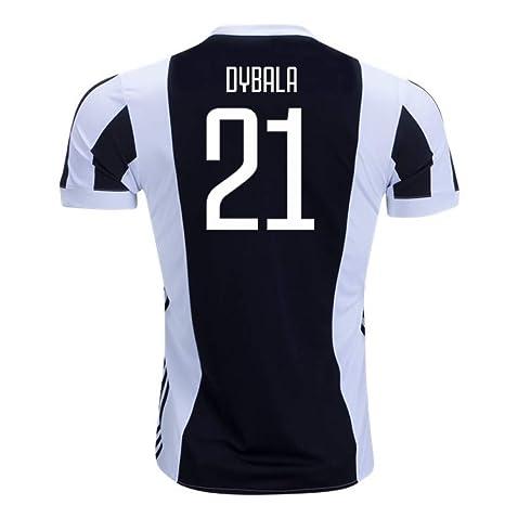 the best attitude 67b1f dc111 Amazon.com : 2017-18 Juventus Home Football Soccer T-Shirt ...