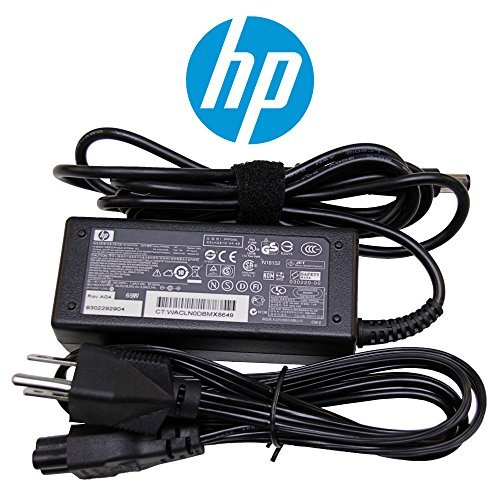 (HP Original 65W Laptop Charger for HP Pavilion dv6 dv7 Series Notebook Power-Adapter-Cord)